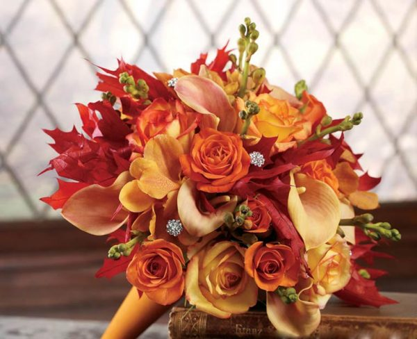 Gợi ý chọn hoa cưới cho cung Bảo Bình