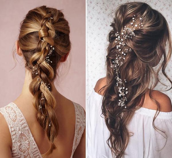 """Kiểu tóc cho cô dâu mặc áo dài """"vạn người mê"""""""