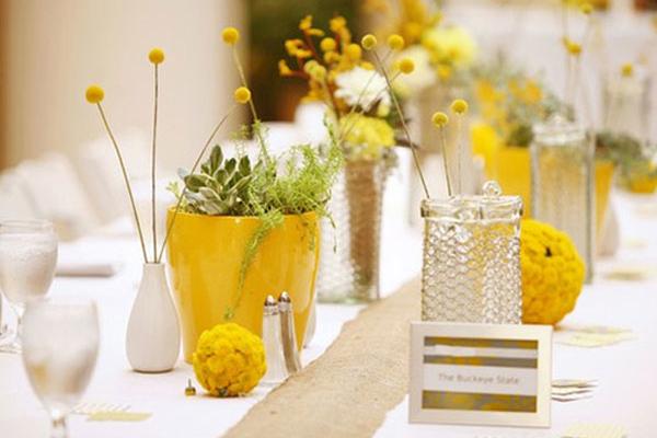Trang trí đám cưới mùa xuân với những gam màu tươi mát